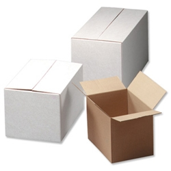 Constructed from a medium weight corrugated board Boxes are flat packed for easy storage and assembly Quantity 10 This product is made from over 50% Recycled material. - CLICK FOR MORE INFORMATION